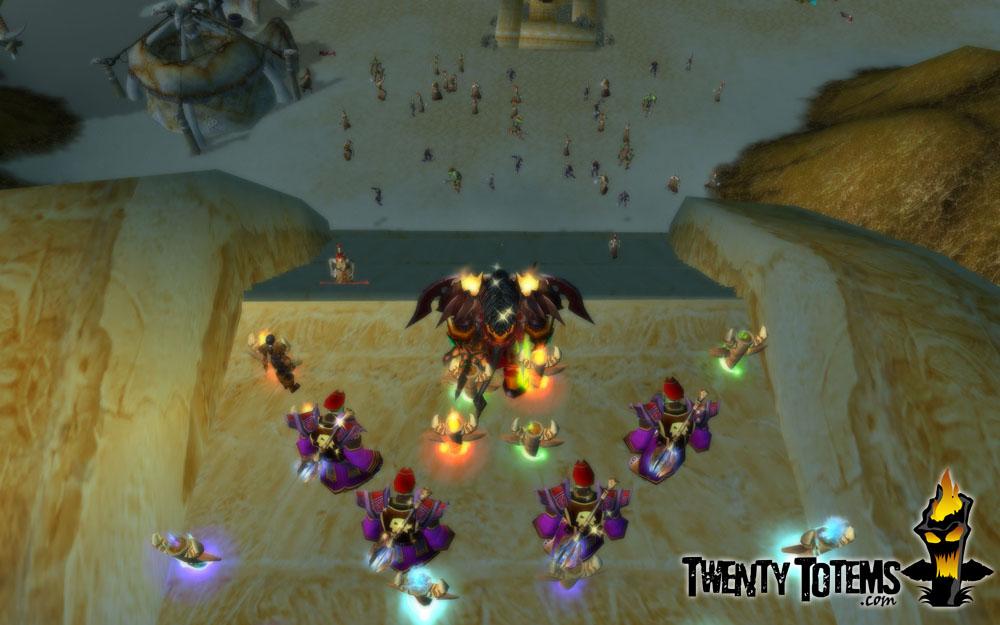 Twenty Totems: Multiboxing Zul'Farrak, full of useful win