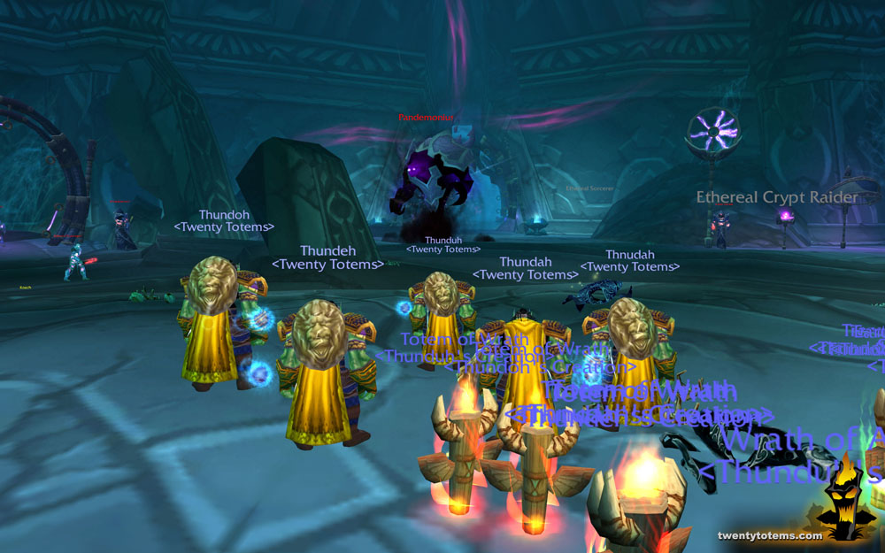 Twenty Totems: Multiboxing the Mana Tombs: Pandemonium